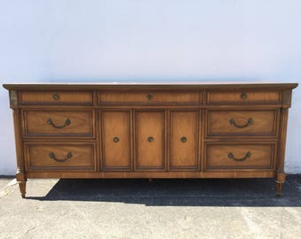 Dresser Antique Tv Stand Sideboard Cabinet Neoclassical Baroque Wood Console French Provincial Vintage Buffet Console CUSTOM PAINT AVAIL