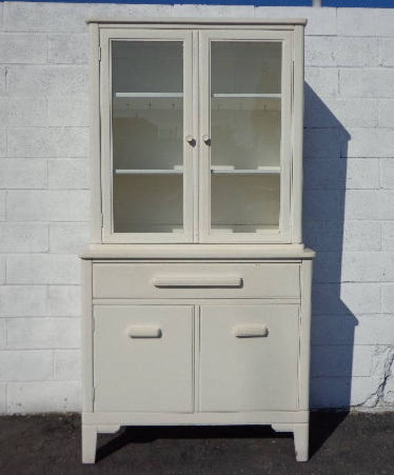 China Cabinet Display Case Hutch Buffet Server Media Console Etsy
