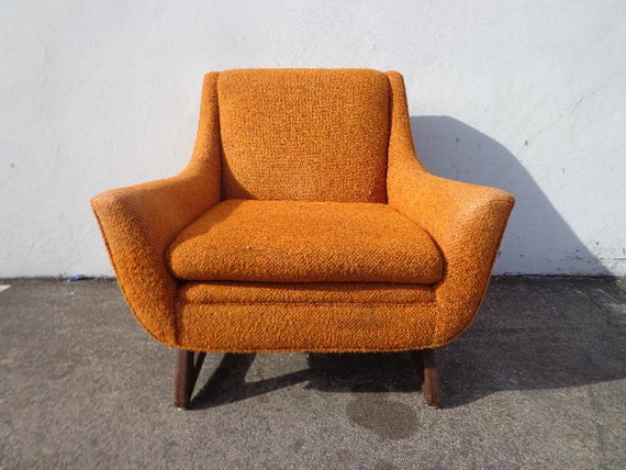 Marvelous Mid Century Lounge Chair Armchair Modern Mcm Craft Adrian Pearsall Accent Hollywood Regency Vintage Seating Tufted Retro Living Room Boho Machost Co Dining Chair Design Ideas Machostcouk