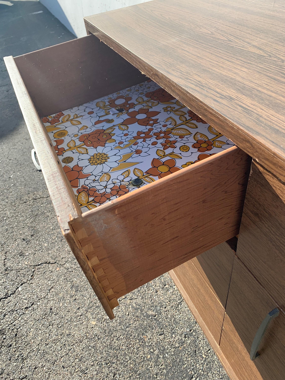 Mid Century Dresser Furniture Chest of Drawers Mid Century ...