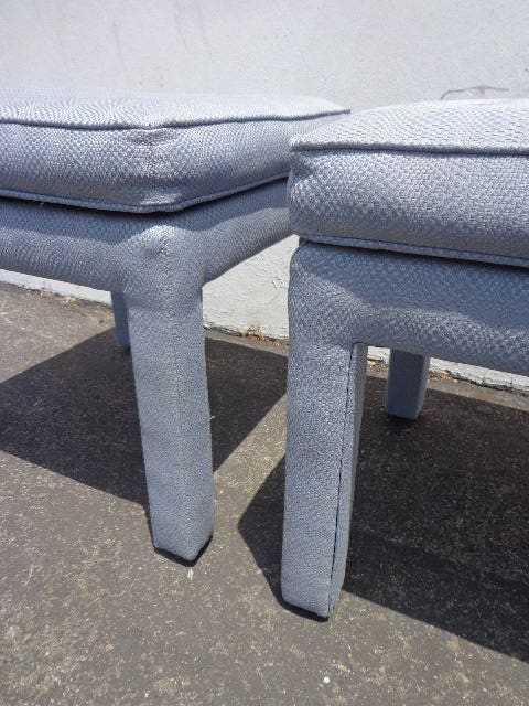 Pair Bed Stools