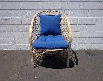 Chair Woodard Vintage Spun Fiberglass Garden Armchair MCM Regency Armchairs Seating Lounge Chair Mid Century Modern Retro Patio Furniture