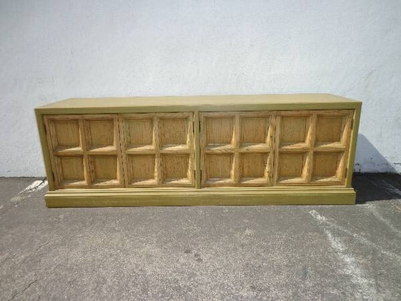 Credenza Console : Credenza console vintage regency french buffet dresser chest etsy