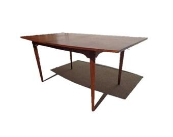 Dining Table Dillingham Milo Baughman Set Mid Century Modern Danish Inspired Hollywood Regency Modern Vintage DIA Style Leaves