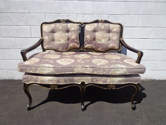 Awesome Bench Settee Loveseat Chinoiserie Chinese Boudoir Vanity Bed Vintage Hollywood Regency Entry Chippendale Sofa Shabby Chic Victorian Seating Frankydiablos Diy Chair Ideas Frankydiabloscom