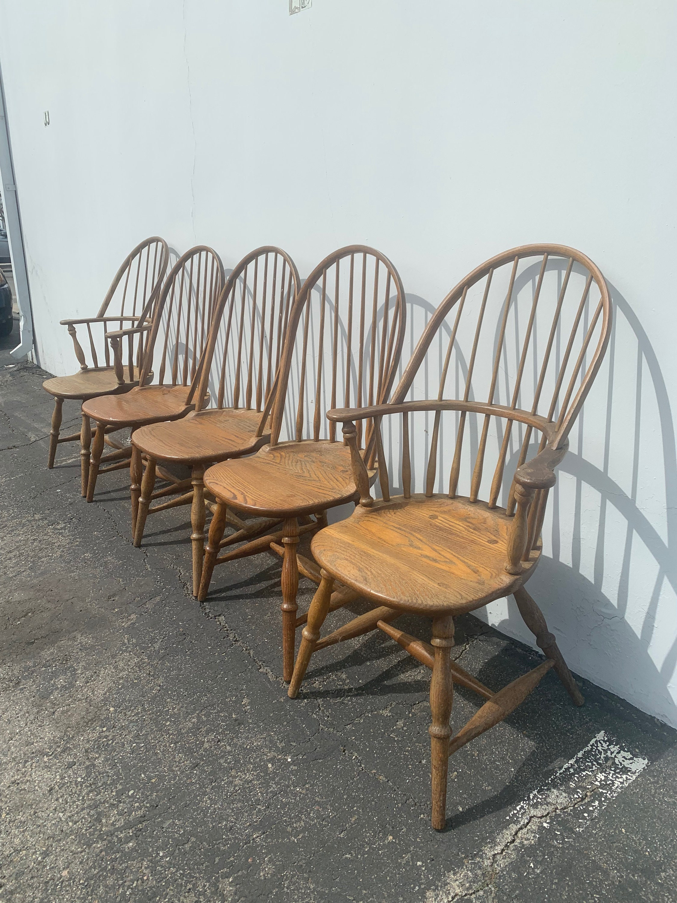 Chair Spindle Oak Chair Wood