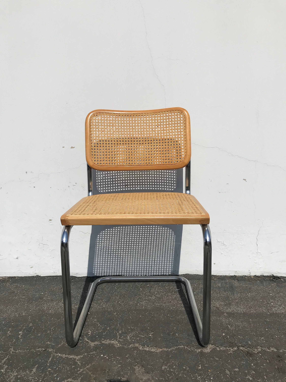 Pleasing Marcel Breuer Cesca Style Chair Mid Century Modern Seating Cjindustries Chair Design For Home Cjindustriesco