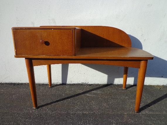 Mid Century Modern Chair Gossip Bench Armchair Entry Way Bench   Etsy