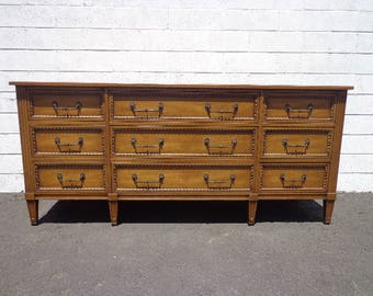 Dresser Henredon Empire Regency Chest Drawers Glam French Provincial Changing Table Buffet Media Console Bedroom Storage CUSTOM PAINT AVAIL