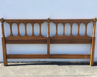Headboard Regency Empire French Provincial Hollywood Glam Bed King Size Neoclassical Coastal Chic Glamour Orante Boho CUSTOM PAINT Available