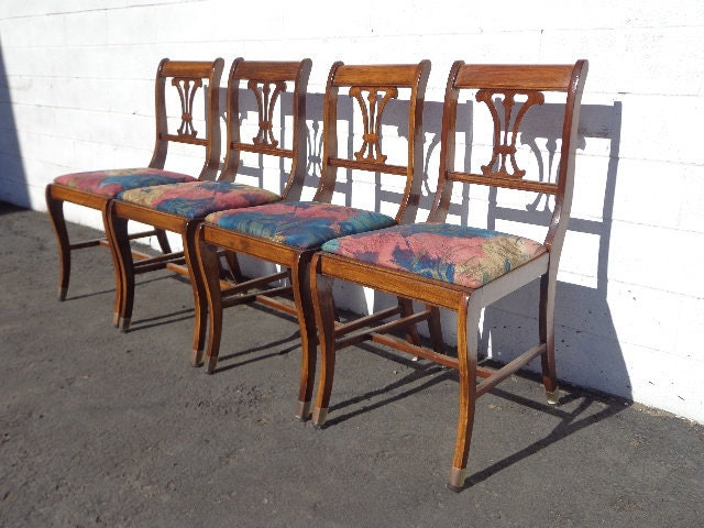 Astounding 4 Chairs Set Of Dining Chairs Antique Chairs Hepplewhite Ncnpc Chair Design For Home Ncnpcorg
