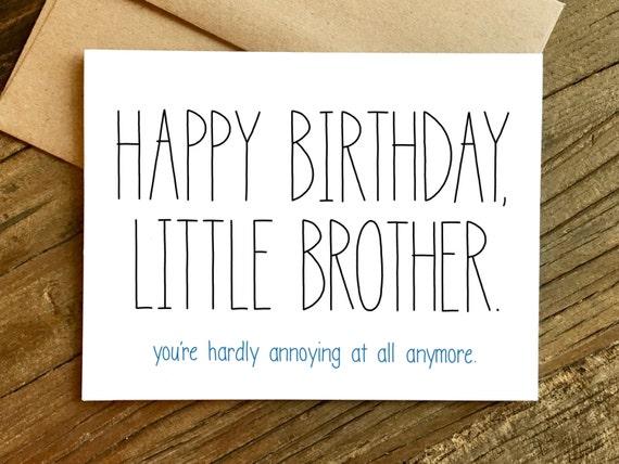 verjaardagskaart broer Grappige Verjaardag Card verjaardagskaart voor broer broer   Etsy verjaardagskaart broer