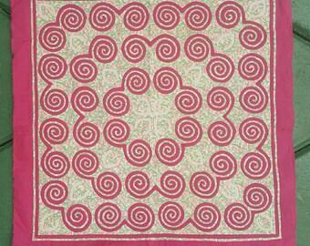 Hmong reverse applique su tessuto di canapa h etsy