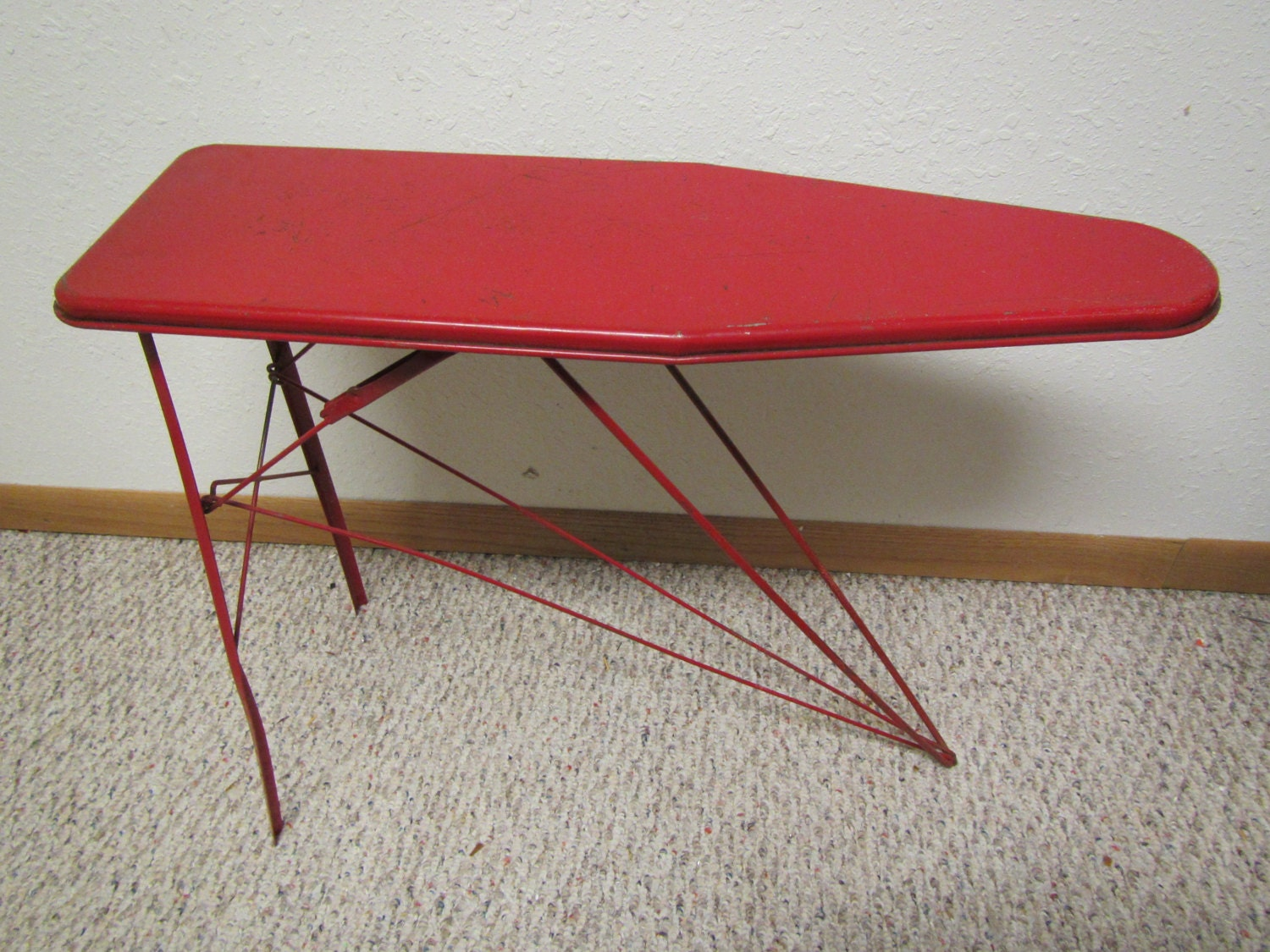 Ironing board furniture Diy 50 Etsy Childs Red Metal Ironing Board Folding Ironing Board Kids Etsy
