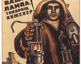 Old poster, Lenin, Stalin, Propaganda poster, Soviet art, 159