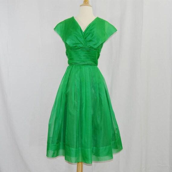 1950s Lady Luck Nos Silk Organza Spiegel Etsy
