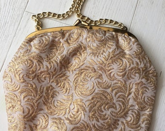 Sparkle gold 50's evening purse