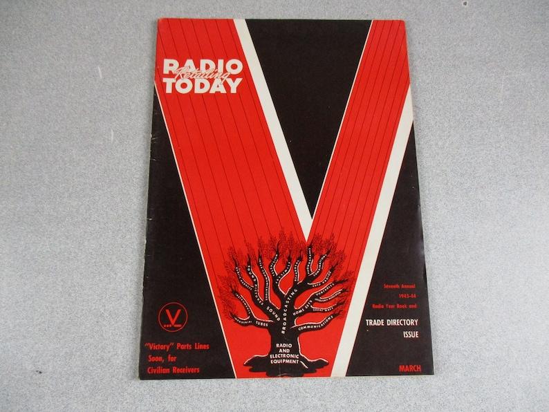 3 Radio Retailing Today Radio Retailing And Television Magazines 1940 1943  1941