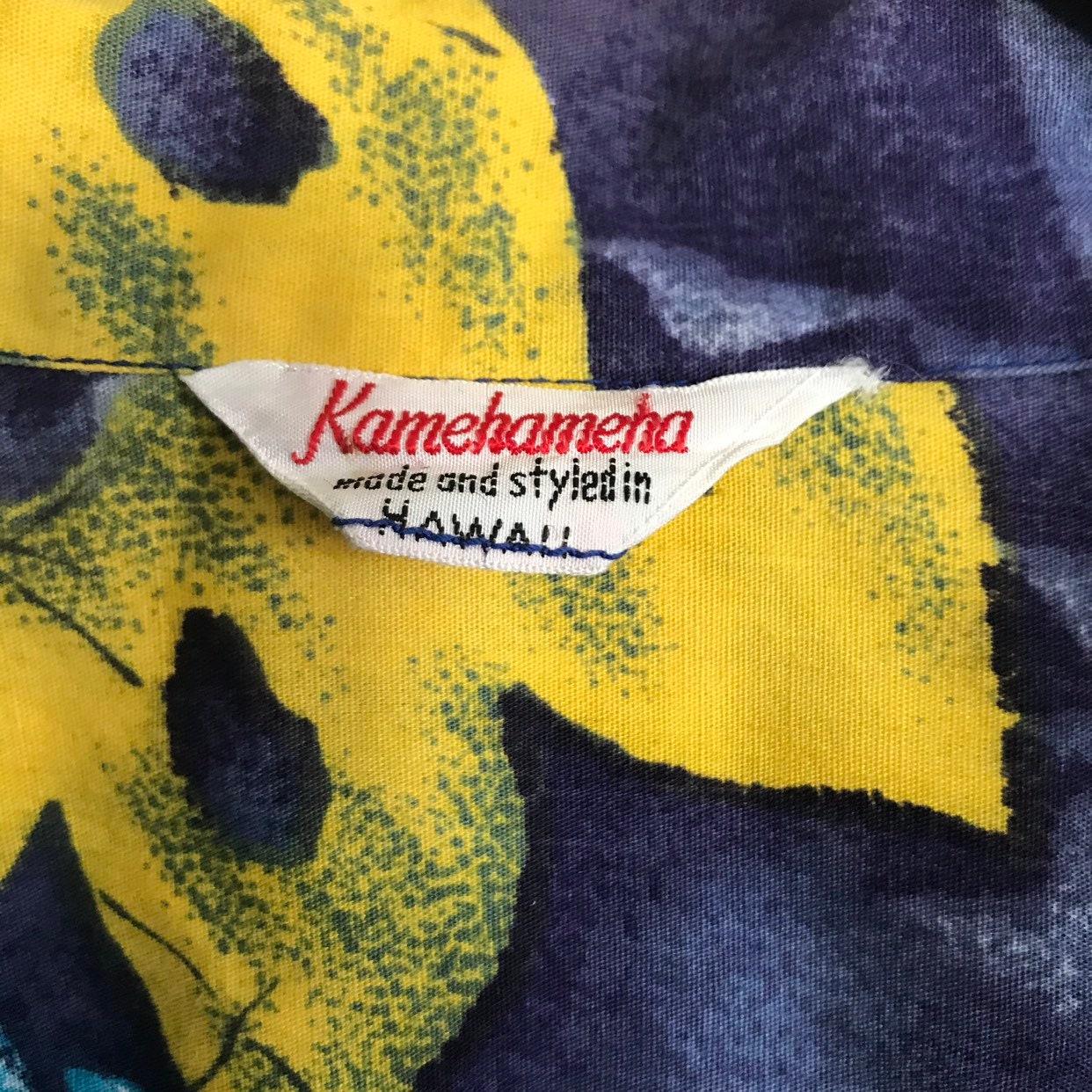 1950s Mens Hats | 50s Vintage Men's Hats Vintage Kamehameha 1950s 1960s 50s 60s Hawaiian Aloha Tiki Shaheen Cabana Shirt $29.50 AT vintagedancer.com
