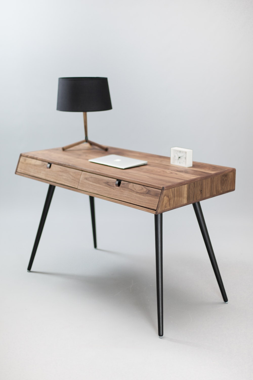 Solid Walnut wood desk , dressing table , office desk, Classic ...
