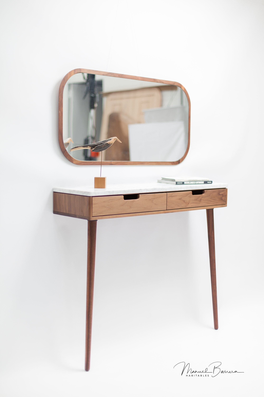 Walnut Oak Wooden Mirror Wall Mirror Leaning Mirror Vanity Mirror Modern Mirror