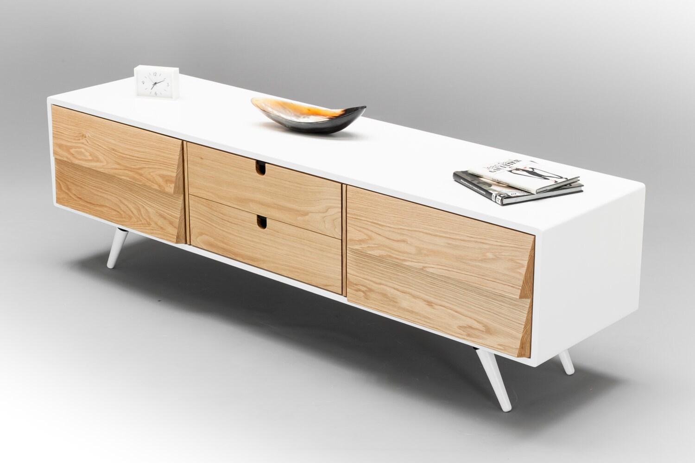 Sideboard Dresser Cupboard Credenza In Solid Board Oak