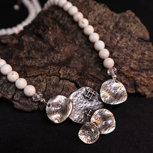 Croatian Bra\u010d stone limestone necklace