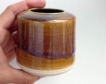 Handmade ceramic vase, Stoneware ceramics, Ceramic bud vase, pottery vase, handmade gift, Bud Vase