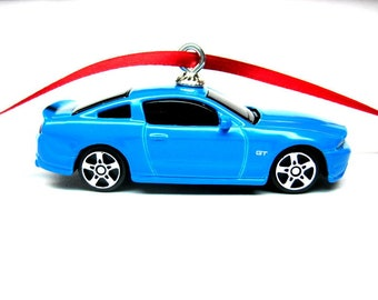 2015 2016 Ford Mustang Gt Muscle Car Hot Wheels Ornament Etsy