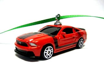 1968 Ford Mustang Gt Muscle Car Hot Wheels Ornament Etsy