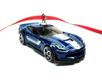 2016 2017 2018 Chevrolet Chevrolet Corvette C7 Z06 voiture Hot Wheels ornement, arbre de Noël, ornements, ornements de vacances, thefrogprince65 for sale  Delivered anywhere in Canada