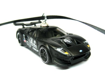 Ford Gt Lm Gran Turismo Sports Car Hot Wheels Ornament Christmas Tree Ornaments Holiday Ornaments Thefrogprince Keychain