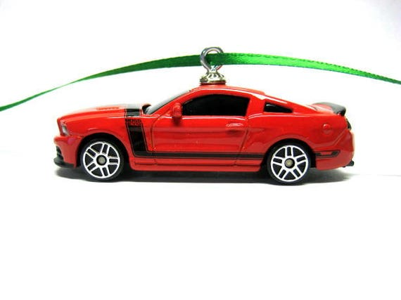 2013 Ford Mustang Boss 302 Muscle Car Christmas Ornament Etsy