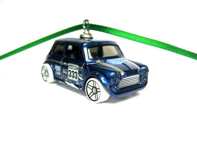Austin Morris Mini Cooper Coupe Car Hot Wheels Ornament Etsy