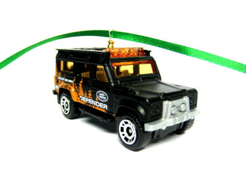 d13257e2740dc Land Rover Defender 110 Jeep SUV Truck Matchbox Ornament, Christmas Tree,  Ornaments, Holiday Ornaments, thefrogprince65, Keychain