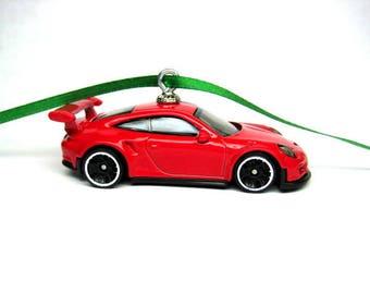 Porsche 911 GT3 RS Car Hot Wheels Ornament