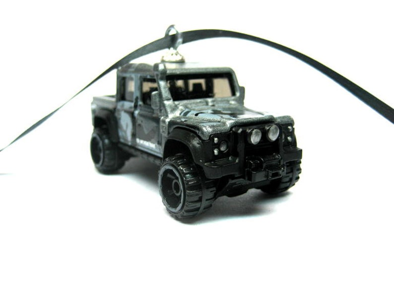 cf7e77747a689 Land Rover Defender Double Cab Jeep SUV Truck Matchbox Ornament, Christmas  Tree, Ornaments, Holiday Ornaments, thefrogprince65, Keychain