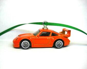 Porsche 993 GT2 Sports Car Hot Wheels Ornament