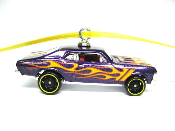 1968 Chevy Nova Muscle Car Hot Wheels Ornament Christmas Etsy