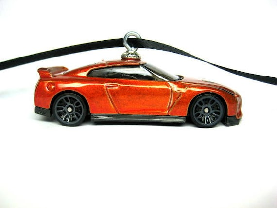 Christmas Sports Car.2017 Nissan Gt R R35 Sports Car Christmas Ornament Christmas Tree Ornaments Holiday Ornaments Thefrogprince65 Hot Wheels