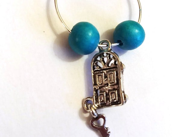 Wine Charms, Realtor Gift, Realty, Real Estate