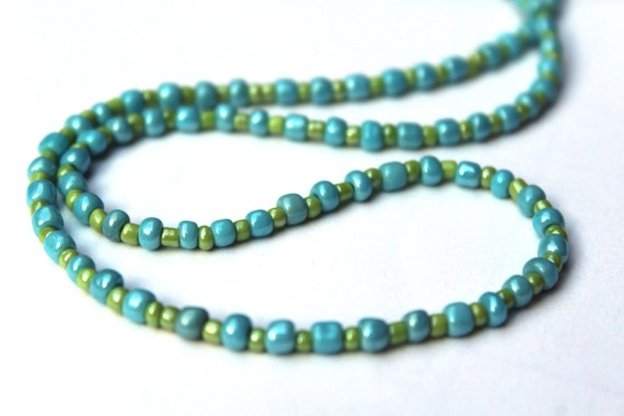 Tiny Bead Eyeglass Chain, Seed Bead Necklace for Glasses