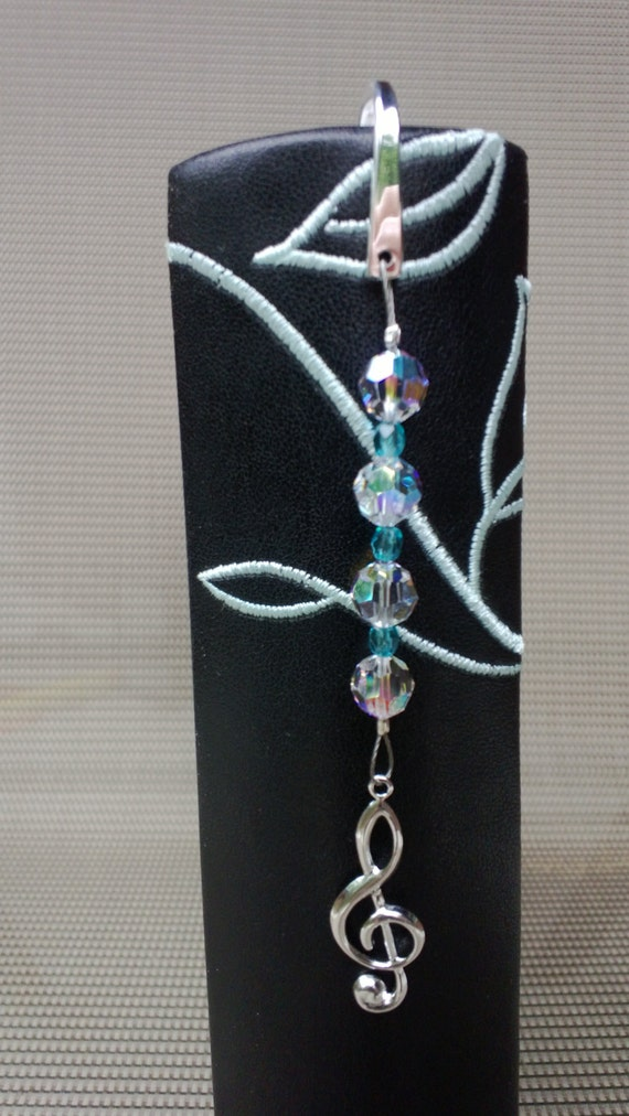 Treble Clef Music Bookmark