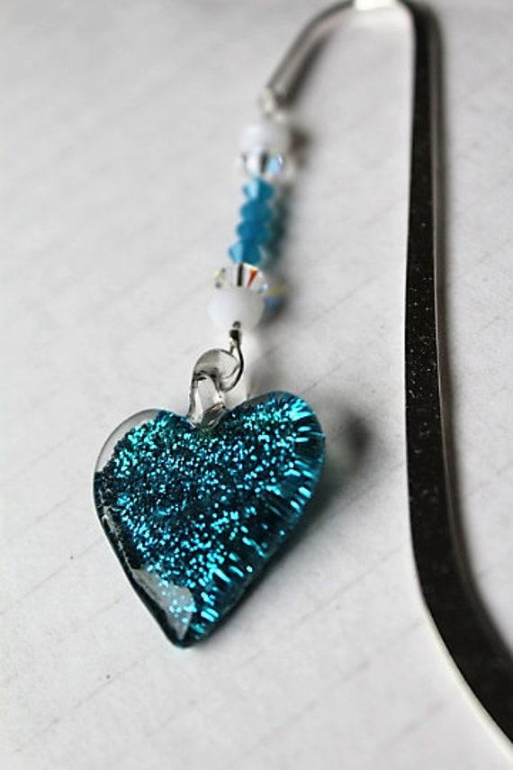 Heart Bookmark, I Love You Gift, Bookmarker, Gift for Her, Bookworm Gift Idea, Teen Gift, Tween Present, Book Club, Heart Decor