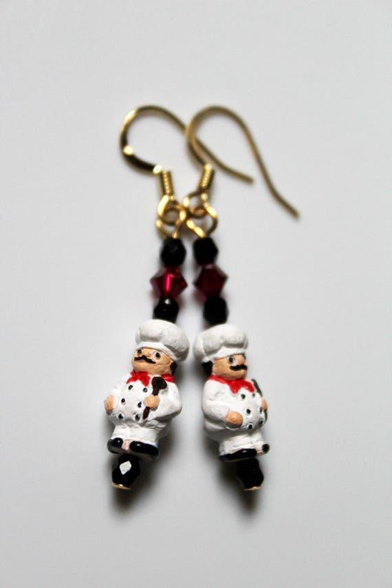 Culinary Chef Gift, Cook Earrings