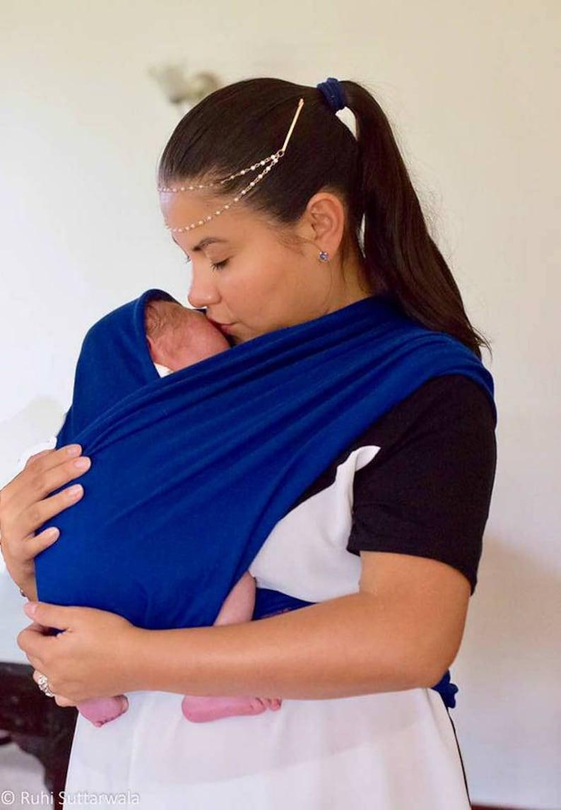 6630987c786 Royal blue Babywrap african baby sling babywrap carrier