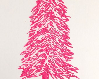 Hot Pink Christmas Tree