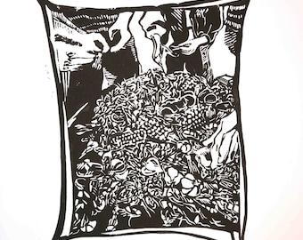Crawfish Boil Print
