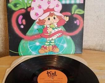 Strawberry Shortcake 1980 Kid Stuff Records Vinyl LP