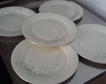 5 Royal Doulton Jessica Dinner Plate Plates 270 mm